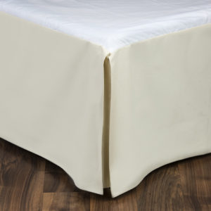 Cream Dust Ruffle for Hillhouse Bedding Collection
