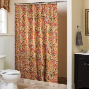 Breeze Tapestry Shower Curtain